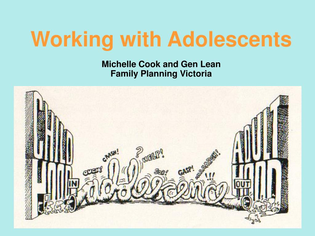 working with adolescents michelle cook and gen lean family planning victoria