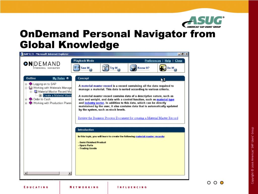 OnDemand Personal Navigator from Global Knowledge
