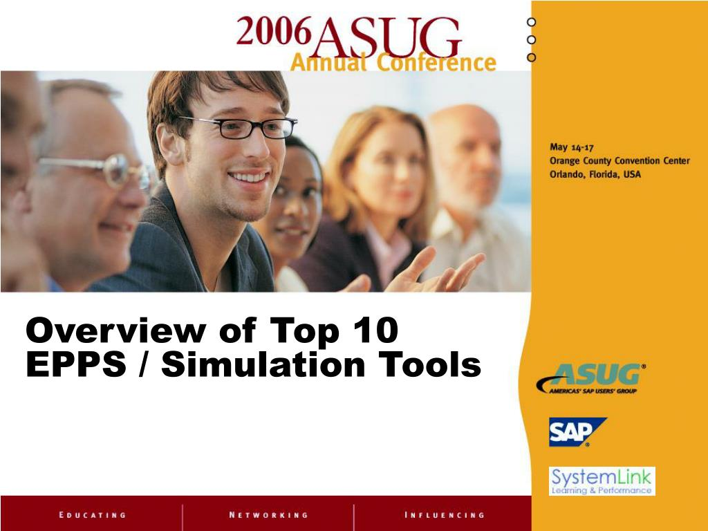 Overview of Top 10 EPPS / Simulation Tools