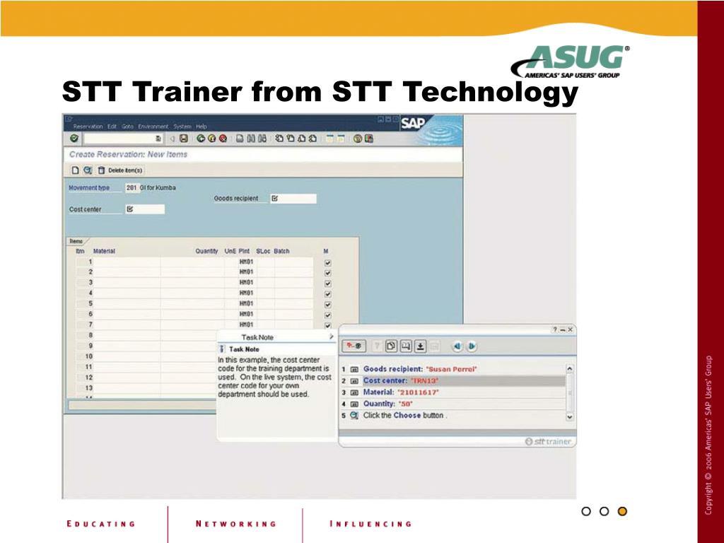 STT Trainer from STT Technology