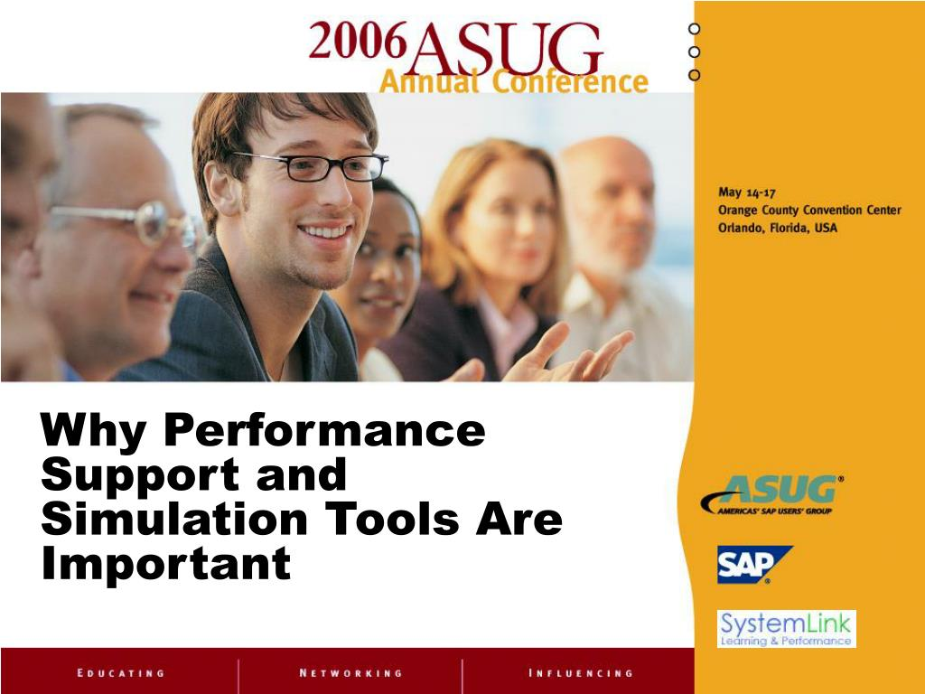 Why Performance Support and Simulation Tools Are Important