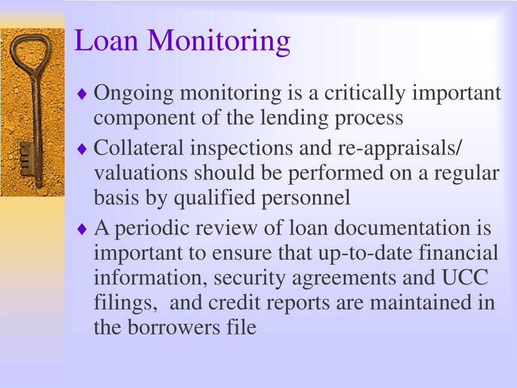 Loan Monitoring