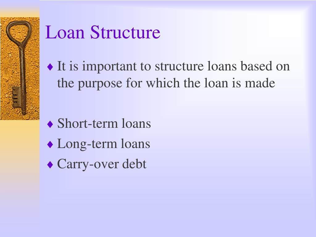 Loan Structure