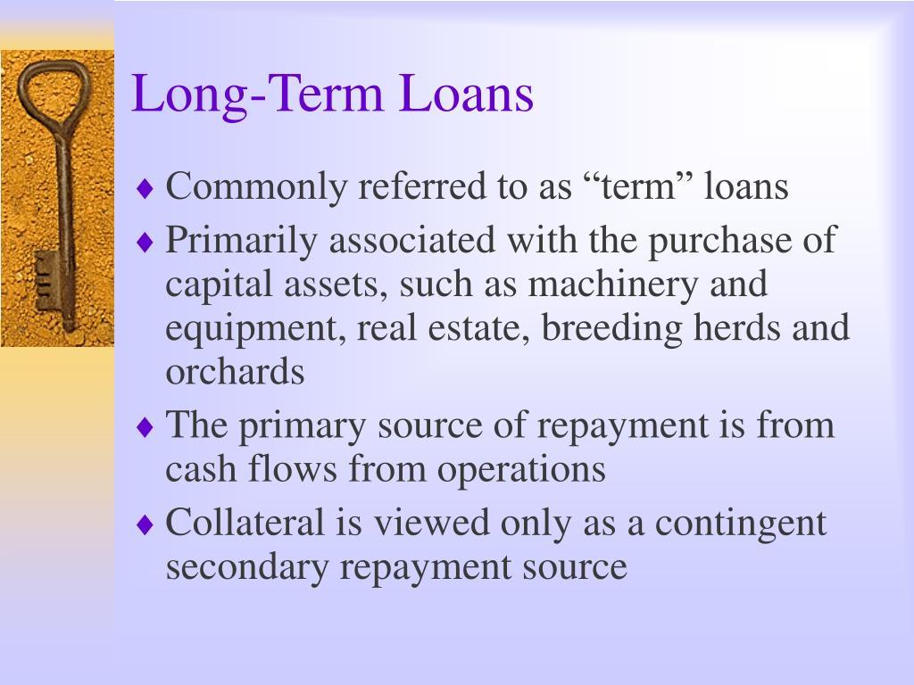 Long-Term Loans