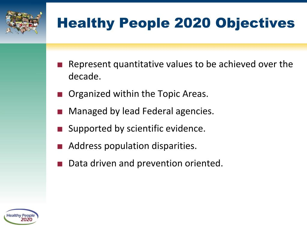 Ppt healthy people 2020 powerpoint presentation id 372665 for Healthy people 2020 is a plan designed to