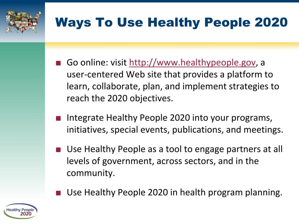 Ppt Healthy People 2020 Powerpoint Presentation Id 372665