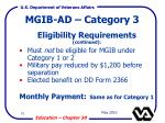 mgib ad category 378