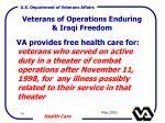 veterans of operations enduring iraqi freedom