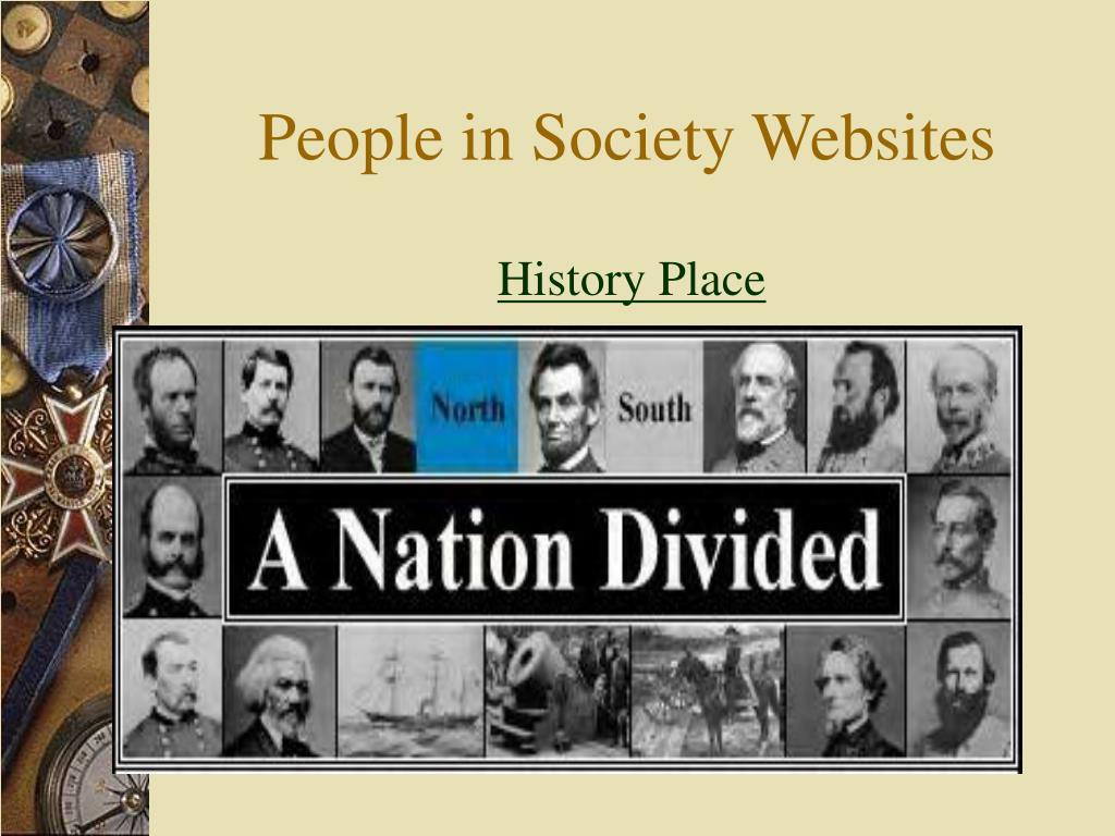 People in Society Websites