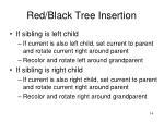 red black tree insertion14