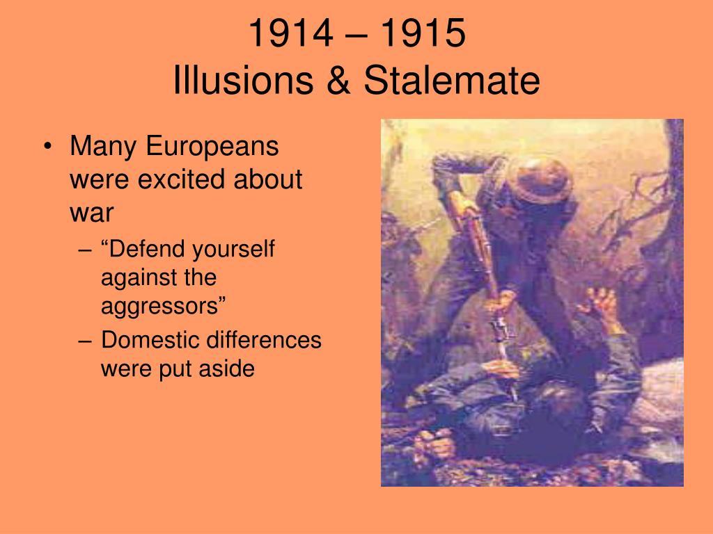 1914 – 1915