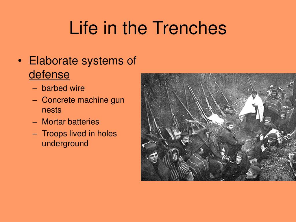 Life in the Trenches
