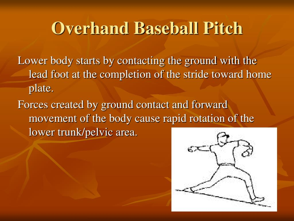 Overhand Baseball Pitch