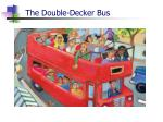 the double decker bus