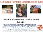 the u s government s global health initiative