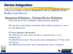 device integration13