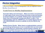 device integration34