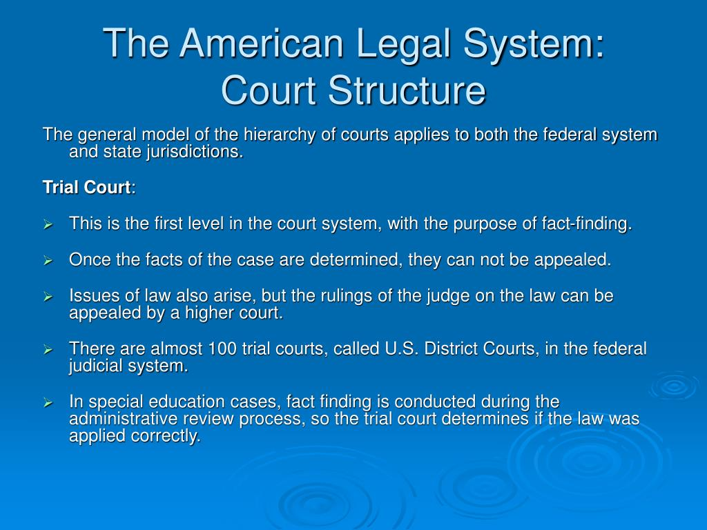 how can the american legal system A comparative study of british barristers and american legal practice and education of selected professional rules and the legal educational system that give.