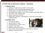 cvsa out of service criteria vehicles17