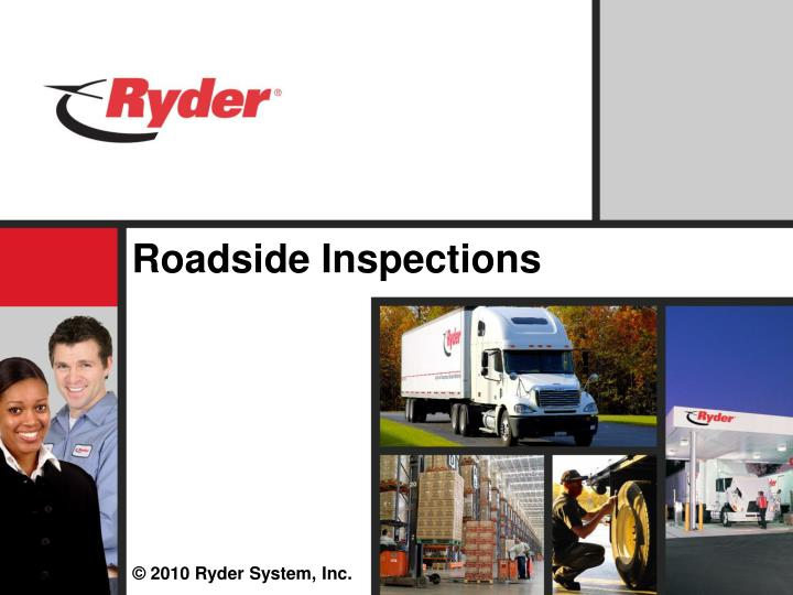 Roadside inspections l.jpg