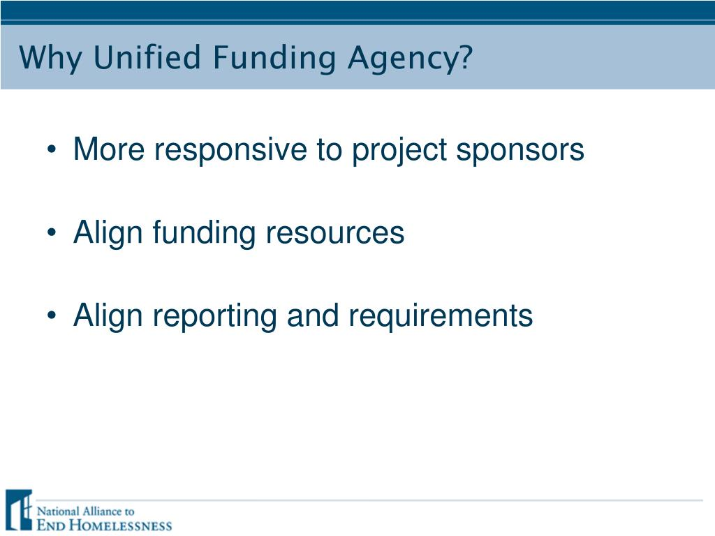 More responsive to project sponsors
