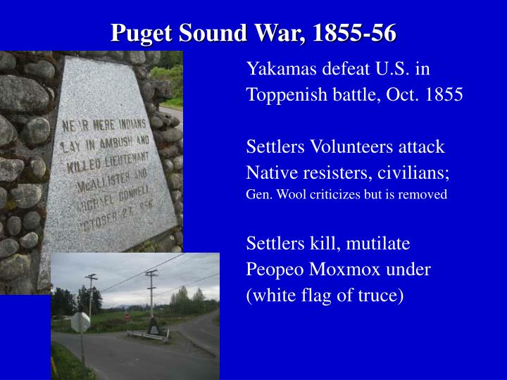 Puget Sound War, 1855-56