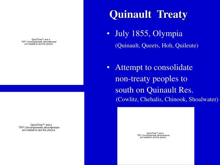 Quinault  Treaty