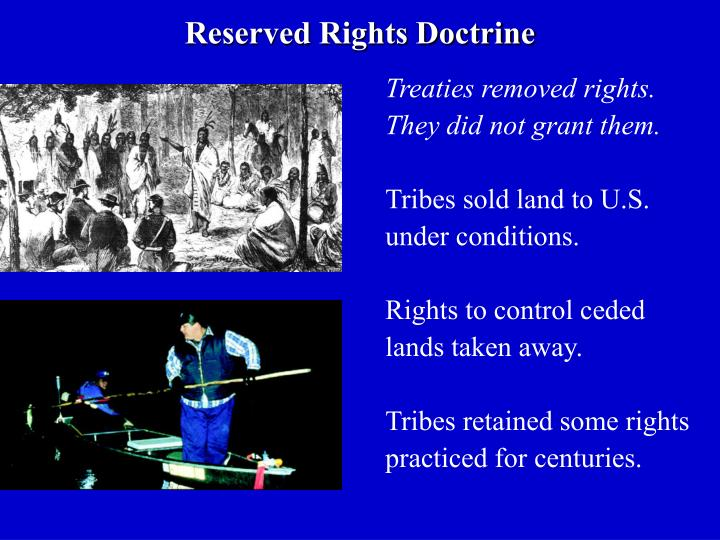 Reserved Rights Doctrine