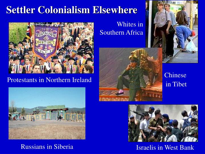 Settler Colonialism Elsewhere