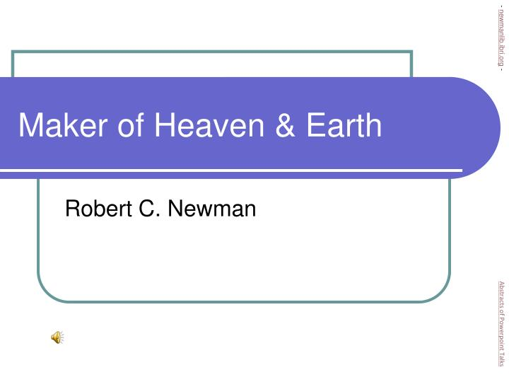 Maker of heaven earth l.jpg