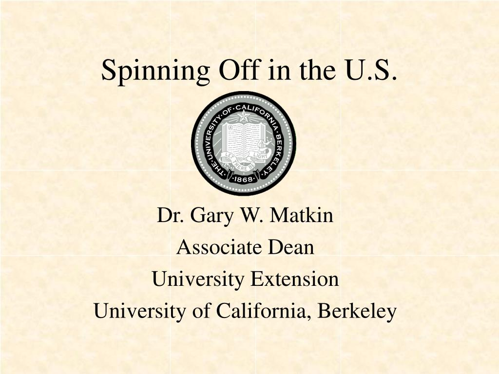 spinning off in the u s