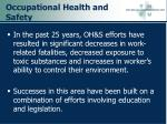 occupational health and safety37