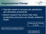 organizational change22