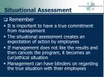 situational assessment101
