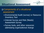 situational assessment91