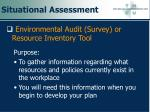 situational assessment92