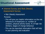 situational assessment94