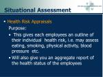 situational assessment97