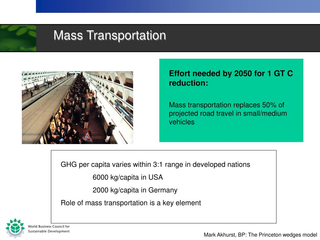 Mass Transportation