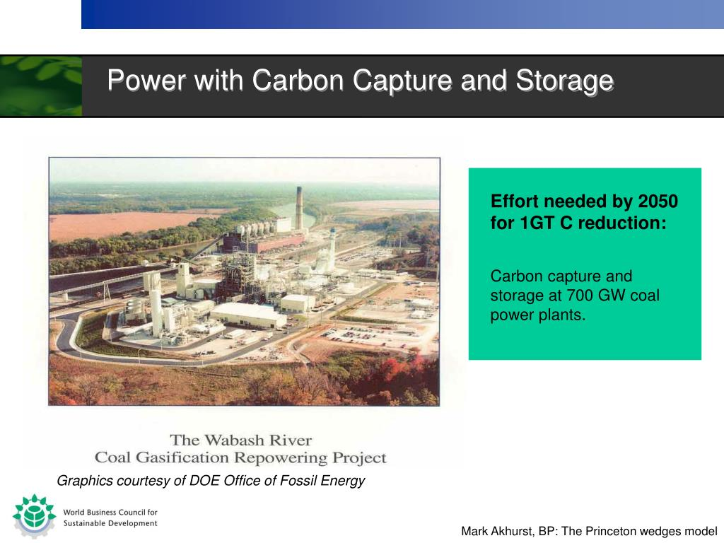 Power with Carbon Capture and Storage
