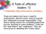 8 traits of effective leaders10