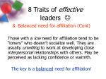 8 traits of effective leaders12