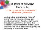 8 traits of effective leaders4