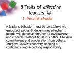 8 traits of effective leaders7