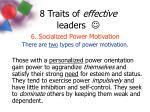 8 traits of effective leaders8