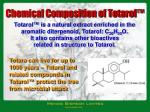 chemical composition of totarol
