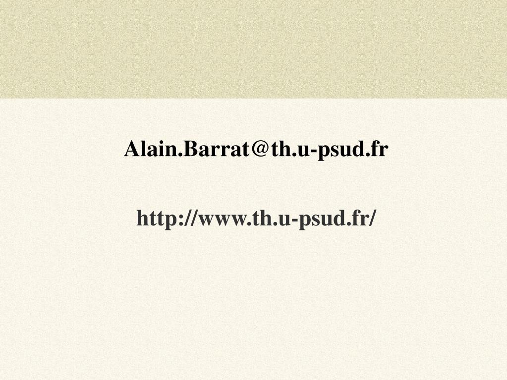 Alain.Barrat@th.u-psud.fr