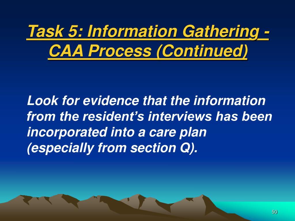 Task 5: Information Gathering -