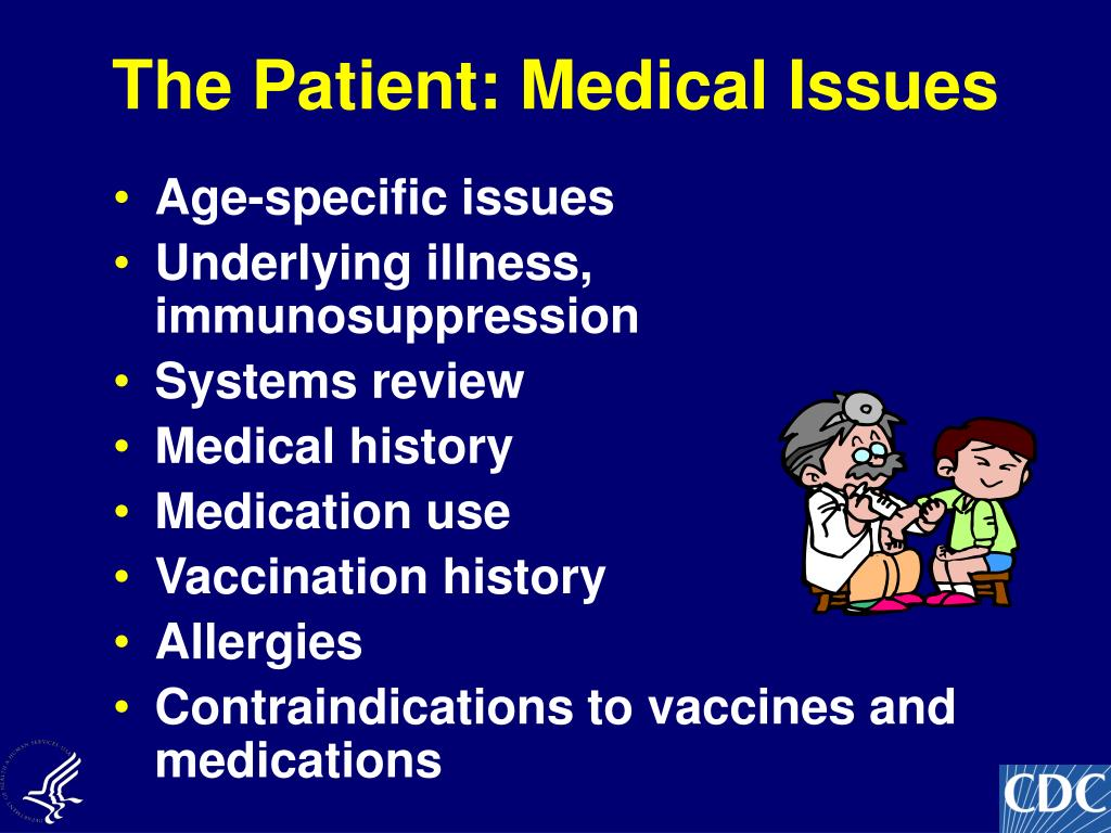 The Patient: Medical Issues