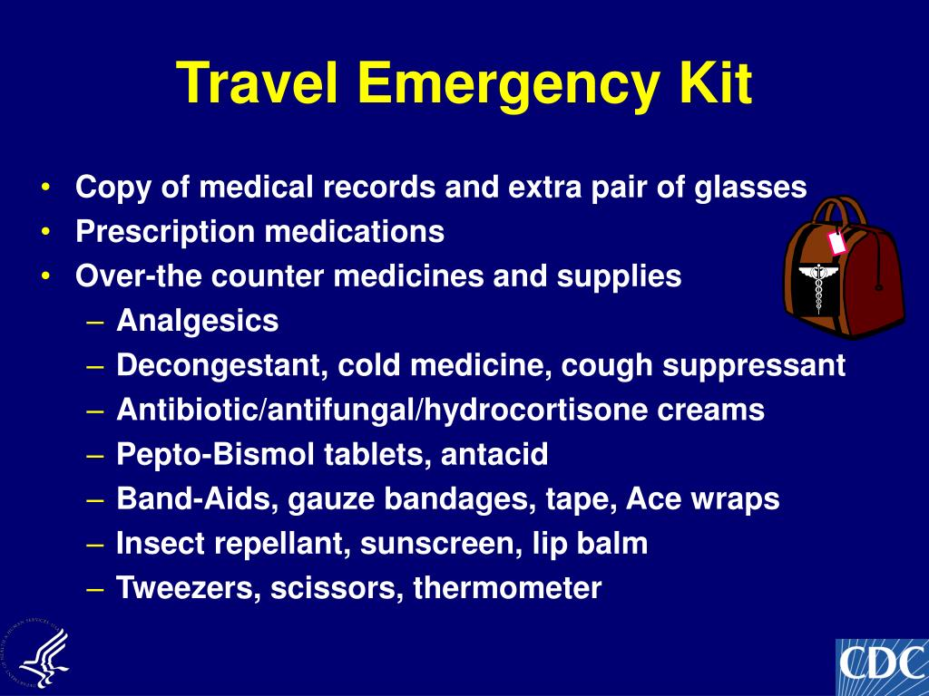 Travel Emergency Kit